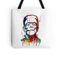Rainbow Frankenstein Tote Bag