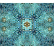 Mandala wind rose Photographic Print