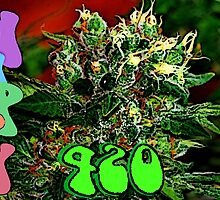 Happy 420 by FloraDiabla