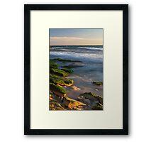 Burns Beach at Sunset Framed Print