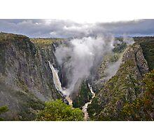 Wollomombi Falls. 15-6-11. Photographic Print