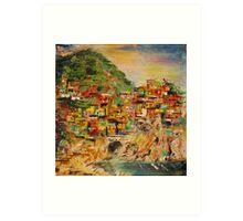 Manarola - Cinque Terre- Italy  III. Art Print