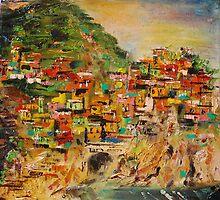 Manarola - Cinque Terre- Italy  III. by andrassyp