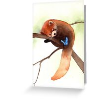 """Sleepy Eyes"" Greeting Card"