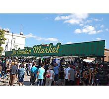 camden market Photographic Print