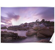 Bay of Fires at Dawn Poster