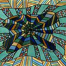 156 - DESIGN 03 - DAVE EDWARDS - WATERCOLOUR & COLOURED PENCILS - 2006 by BLYTHART