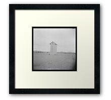 Grain silo Framed Print