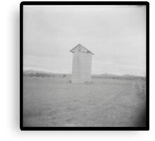 Grain silo Canvas Print