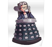 "Doctor Who - Capaldi On Davros ""Chair"" Poster"