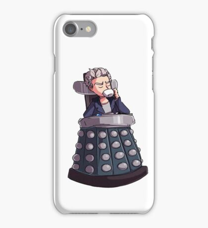 "Doctor Who - Capaldi On Davros ""Chair"" iPhone Case/Skin"
