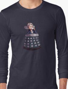 "Doctor Who - Capaldi On Davros ""Chair"" Long Sleeve T-Shirt"