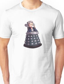 """Doctor Who - Capaldi On Davros """"Chair"""" Unisex T-Shirt"""