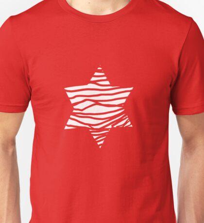 big white star Unisex T-Shirt