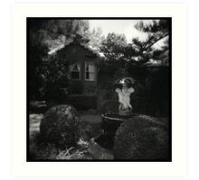 Fox gardens Art Print