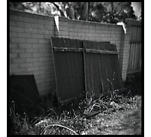 Fences Photographic Print