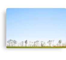 The minimalistic landscape of Jæren Canvas Print