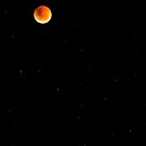 Lunar Eclipse on Fire by Rob  Southey