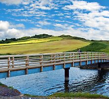Bridge Over The River Char by Susie Peek