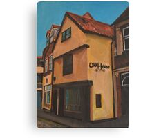 Hull, The Old House  Canvas Print