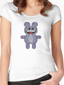 BEAR 3 Women's Fitted Scoop T-Shirt