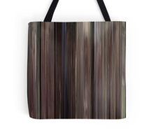 Moviebarcode: Back to the Future (1985) Tote Bag