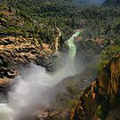 Water Over the Dam by Barbara  Brown