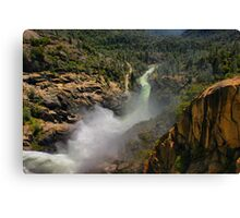 Water Over the Dam Canvas Print