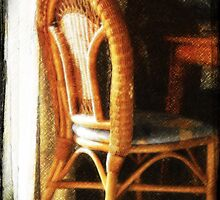 Wicker chair by CharliSL