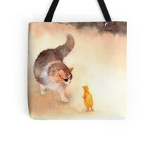 """""Don't Eat Me, Please!"" Tote Bag"