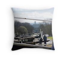 Hatton Locks Throw Pillow