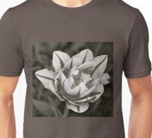 Tulip in Black & White Unisex T-Shirt