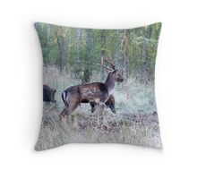 invasion on the rut stand 2 Throw Pillow