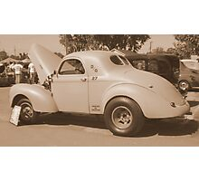 A Real Gasser Photographic Print