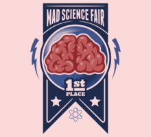 First Place at the Mad Science Fair Color Kids Tee