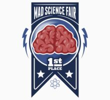 First Place at the Mad Science Fair Color One Piece - Long Sleeve