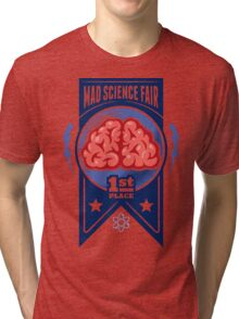 First Place at the Mad Science Fair Color Tri-blend T-Shirt