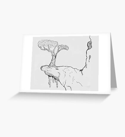 Nowhere Left To Grow Greeting Card
