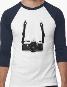 Vintage 35mm SLR Camera Pentax MX  Men's Baseball ¾ T-Shirt