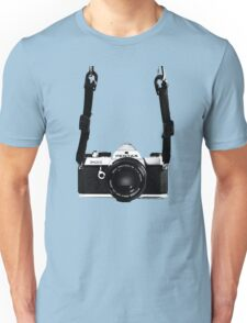 Vintage 35mm SLR Camera Pentax MX  Unisex T-Shirt