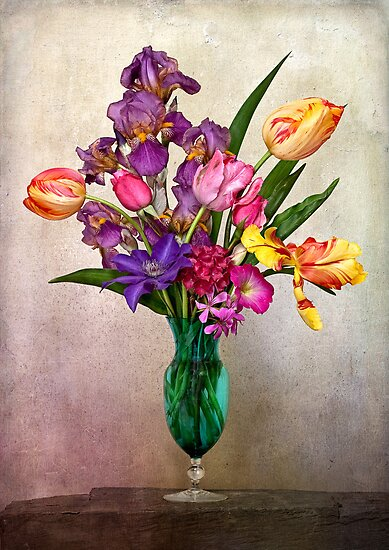 Early May Still Life by Leslie Nicole