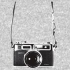 Vintage 35mm Rangefinder Camera Yashica Electro 35 GSN by AnalogSoulPhoto