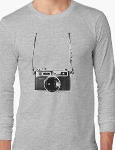 Vintage 35mm Rangefinder Camera Yashica Electro 35 GSN Long Sleeve T-Shirt