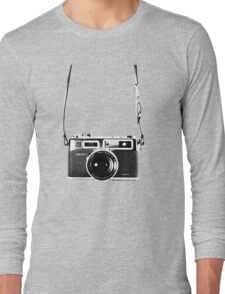 Vintage 35mm Rangefinder Camera Yashica Electro 35 GSN Long Sleeve T-Shirt