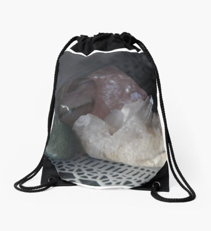 Crystals Drawstring Bag