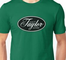 Oval Taylor Quality Guitars Unisex T-Shirt