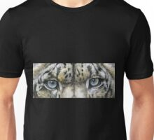 Eye-Catching Snow Leopard Unisex T-Shirt