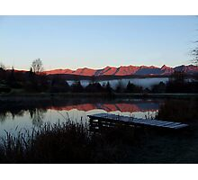 Drakensberg Sunrise Photographic Print