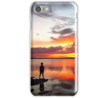 Cracker! Sunset Wellington Point QLD iPhone Case/Skin