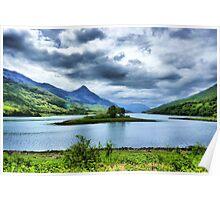Loch Leven, Scotland Poster